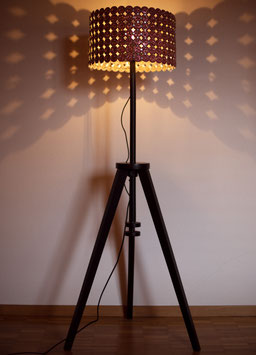 "Kapsel Stehlampe ""Vintage 2011 limitied edition"""