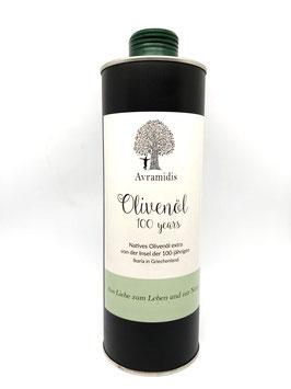 Avramidis Olivenöl 100years, 750ml Dose
