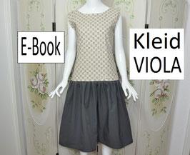 E-Book Kleid VIOLA 34-50 zum Nachnähen  E-Book Schnittmuster Nähanleitung