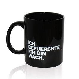 Die Tasse schwarz