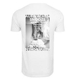 Shirt AUFWACHEN & SNOOZE BACKPRINT