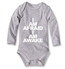 Babybody I AM AFRAID, I AM AWAKE grau