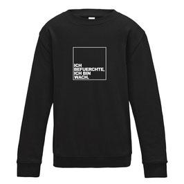 Baby- & Kidssweatshirt schwarz