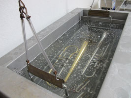 Reinigung im Ultraschallbad