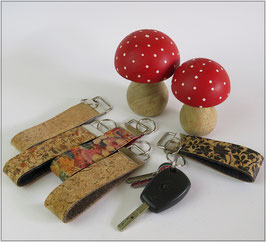 Kork Schlüsselanhänger - verschiedene Designs