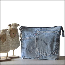 Kosmetiktasche Jeans MOLIN M01