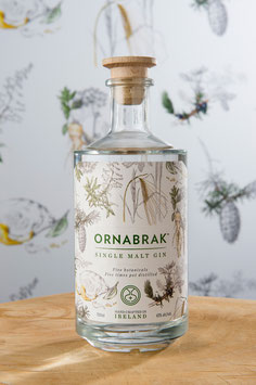 Ornabrak - Irish Single Malt Gin 0,7L