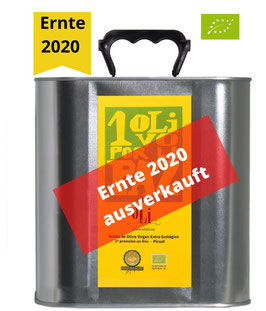 1 Olivo por la Paz - Picual (BIO) - 2,5 l - Ernte 2020
