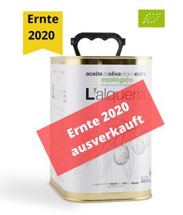 L'Alqueria Blanqueta (BIO) - 2,5 l - Ernte 2020