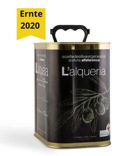 L'Alqueria Alfafarenca 2,5 l - Ernte 2020