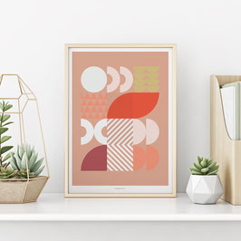 Art Print PINK WORLD
