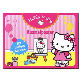 "Ausmalposter ""Hello Kitty"""