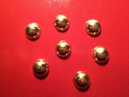 Halbperlen gold Durchmesser 10mm