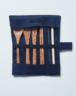 Bambus Besteckset/ Bambus Strohhalme mit Reinigungsbürste  - ab sofort lieferbar!