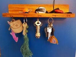 Magnetisches Schlüsselbrett aus hochwertigem Akazienholz