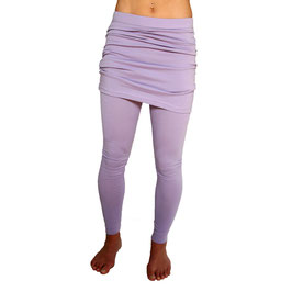 Leggings mit Skirt flieder
