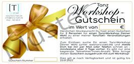 Gutschein Tanz-Workshop für 2 Personen