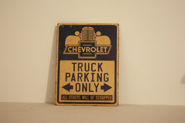 Chevrolet Truck Parking Only