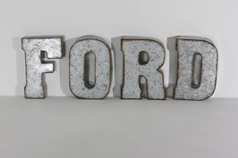Lettres Galva FORD