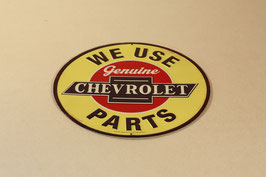 Plaque Chevrolet Parts