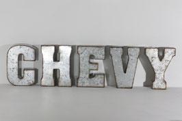 Lettres Galva Chevy (Chevrolet)