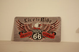 Route 66 Live to Ride