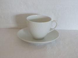 ROYAL COPENHAGEN, HVEDEKORN, Coffeecup & Saucer