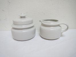 ARABIA, KAARNA, Creamer&Sugar bowl with lid