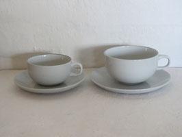 ALUMINIA (ROYAL COPENHAGEN), BLUE LINE, Tea cup & Saucer