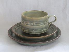 NISSEN, RUNE, Teacup & Saucer & Plate