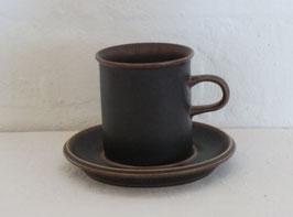 ARABIA, RUSKA, Coffeecup & Saucer