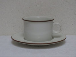 ROYAL COPENHAGEN, DOMINO, Coffee cup & Saucer