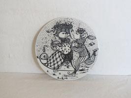 NYMØLLE, 12MONTH (JANUAR), Plate 150mm