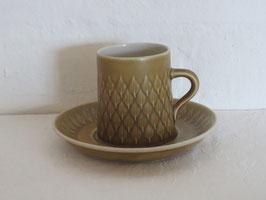 BING & GRØNDAHL, RELIEF, Coffeecup & Saucer