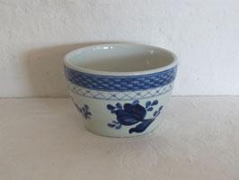ALUMINIA, BLUE TRANQUEBAR FAJANCE, Sugar bowl