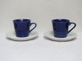 FIGGJO, 2Coffee cups & Saucers