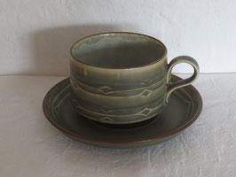 BING & GRØNDAHL, RUNE, Teacup & Saucer