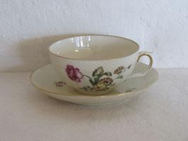 ROYAL COPENHAGEN, FRIJSENBORG, Tea cup & Saucer