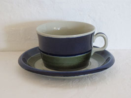 RÖRSTRAND, ELISABETH, Cup & Saucer