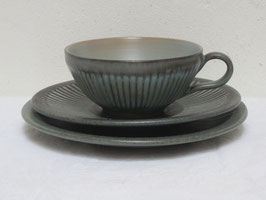 LØVEMOSE, GRAASTEN, Teacup&Saucer&Plate