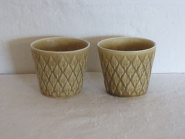NISSEN/KRONYJDEN, RELIEF, 2 Cups