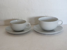 ROYAL COPENHAGEN, BLUE LINE, Coffeecup & Saucer
