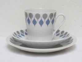 LYNGBY(DAN‐ILD), DRAAB(DROP), Coffee cup & Saucer & Plate
