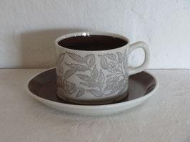 GEFLE, FONTANA, Coffeecup & Saucer
