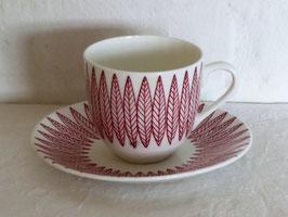 GUSTAVSBERG, SALIX, Coffeecup & Saucer