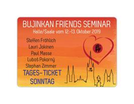 Seminar-Tagesticket für Sonntag, den 13.10.2019