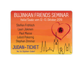 """Bujinkan seminar Judan ticket"" special offer!"