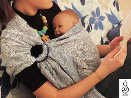 Breath Blue Ring Sling