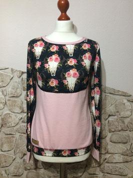 "Sweatshirt ""Flowers"" - Größe 34/36"