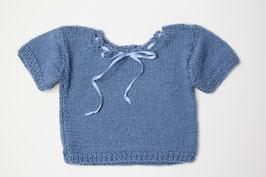 Babyhemdchen Merinowolle jeans